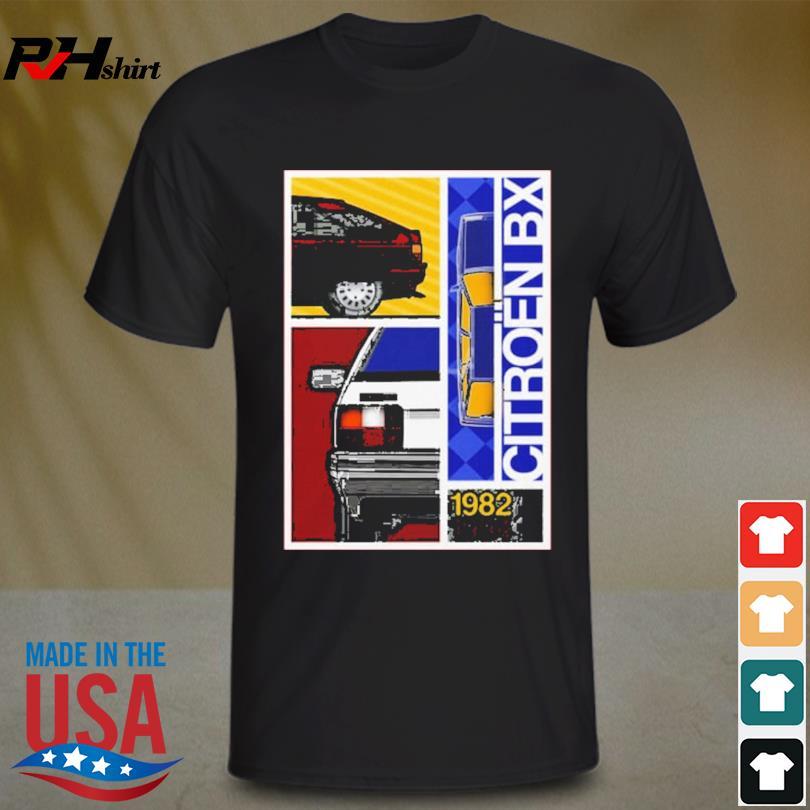 Official Citroen Bx 1982 1994 shirt