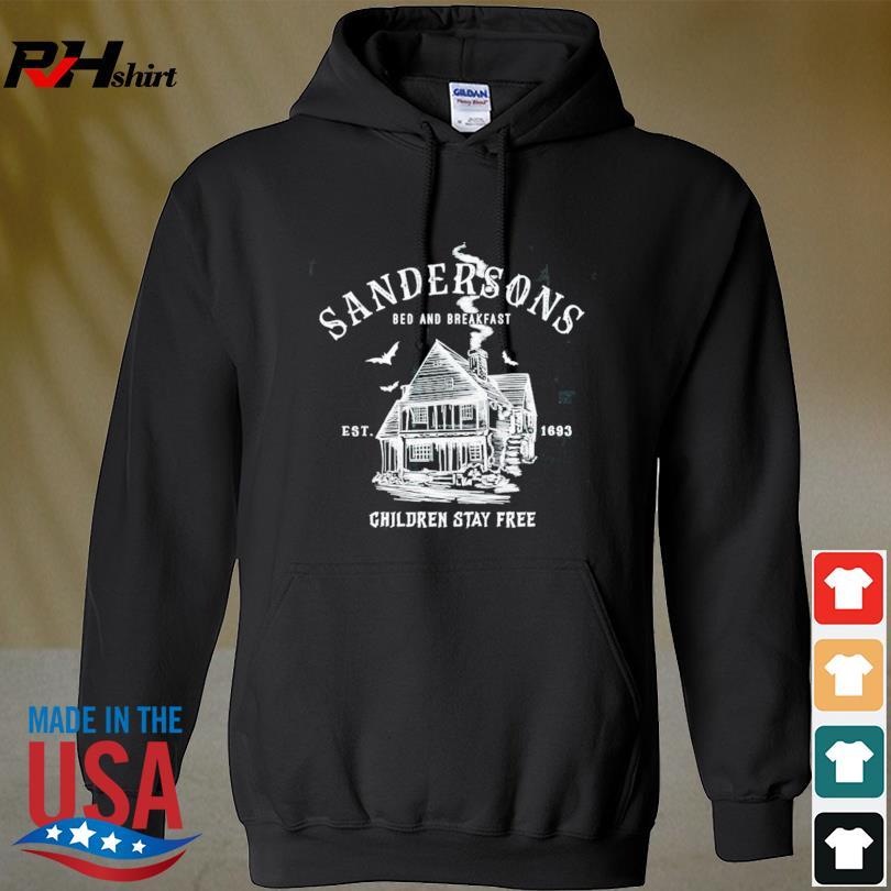 Sandersons bed and breakfast est 1693 children stay free s hoodie