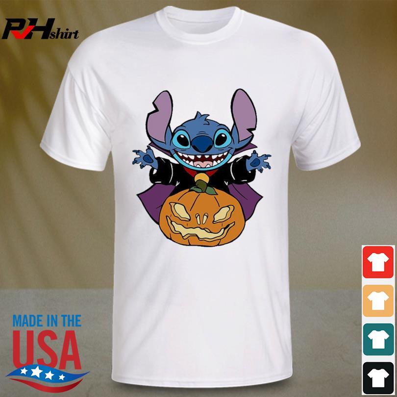 Stitch hug Pumpkin Halloween shirt