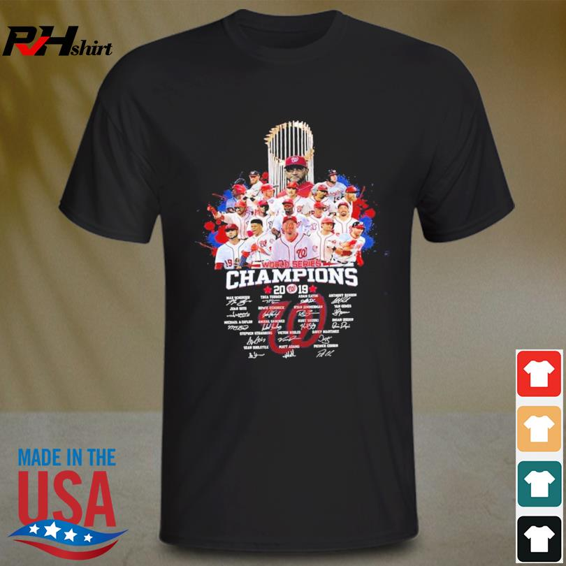2019 World Series Champions Washington Nationals New Version shirt