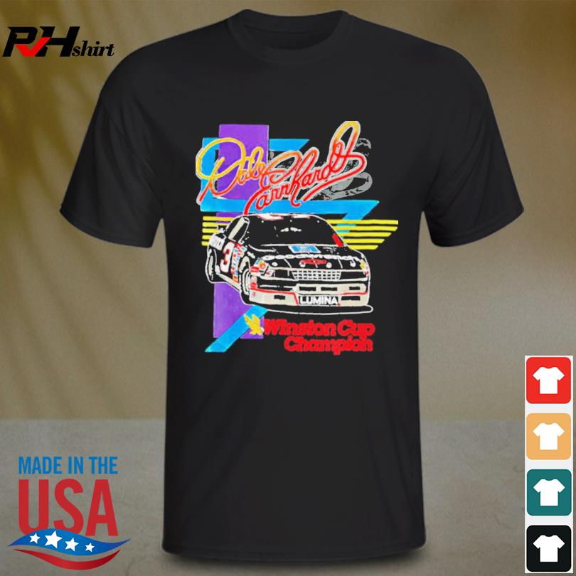 Dale Earnhardt Winston Cup Champions Shirt