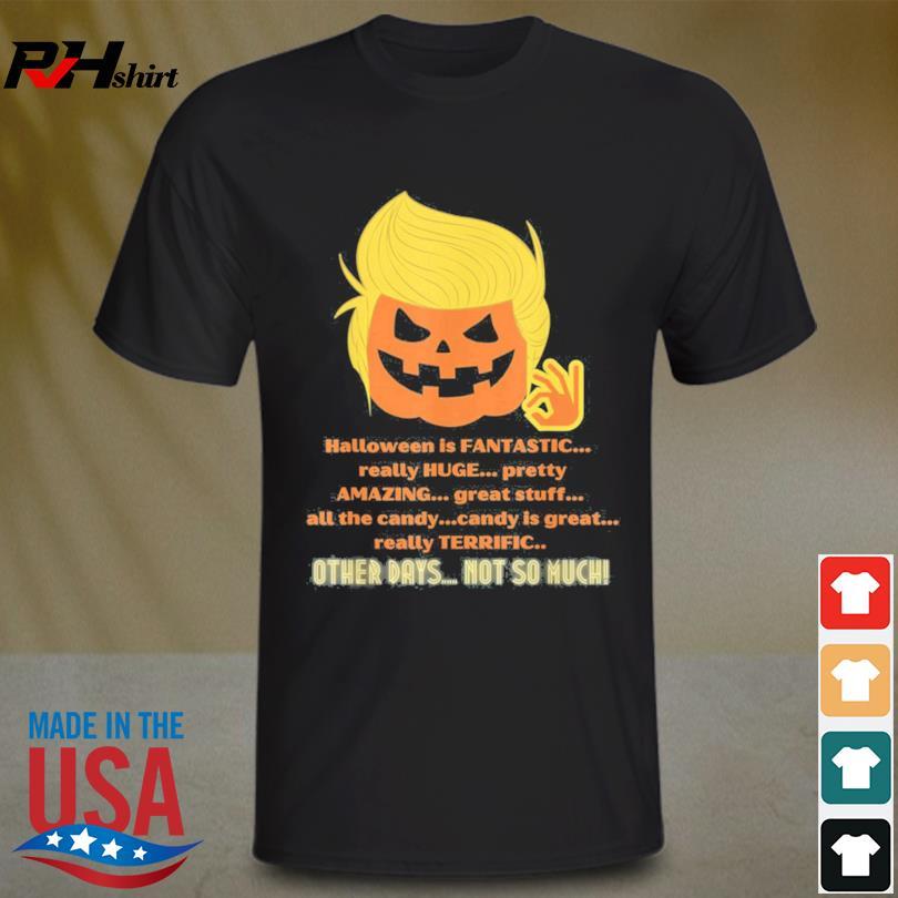Halloween Trump Pumpkin Costume shirt