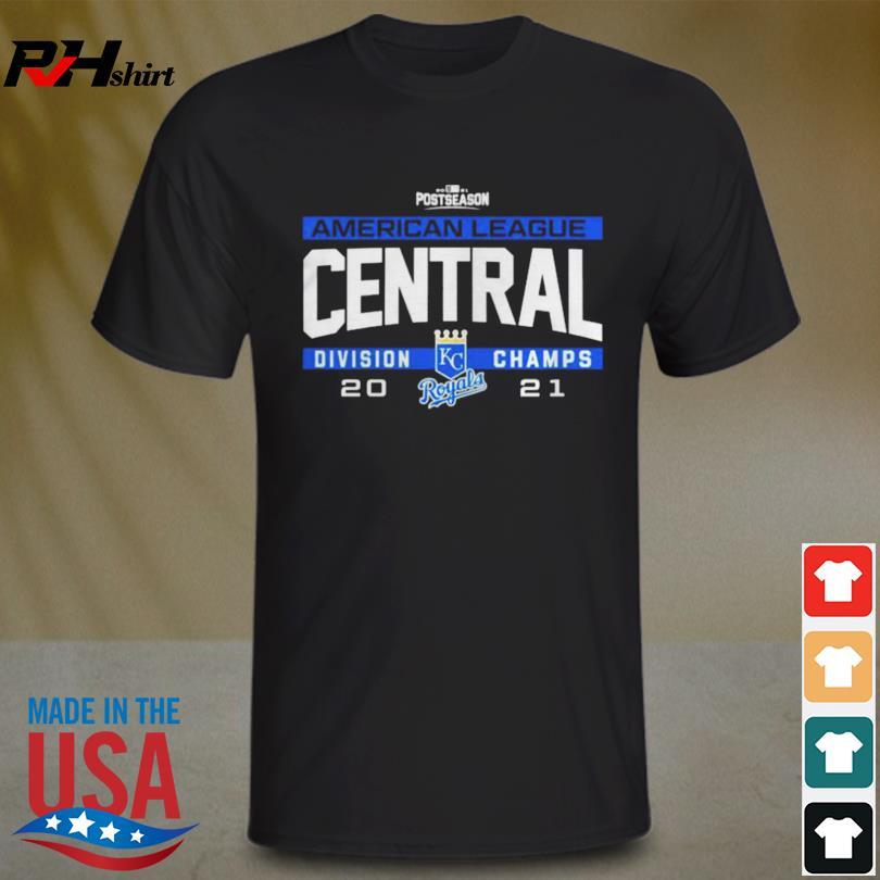 Kansas city royals 2021 al central division champs shirt