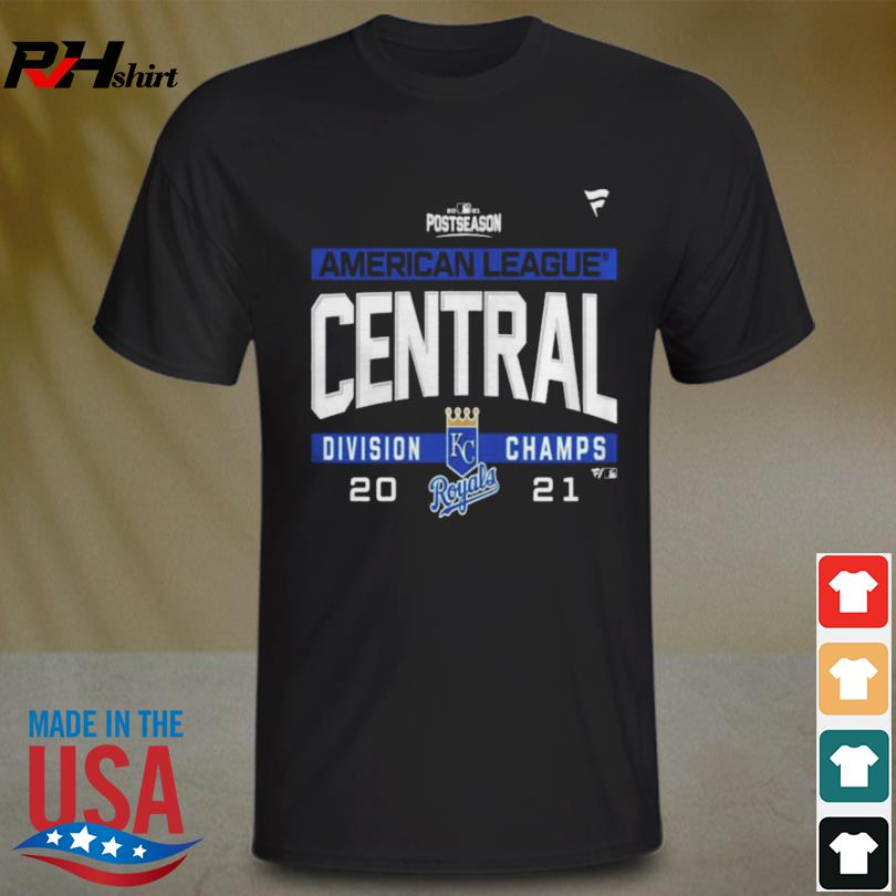 Kansas city royals American league al central division champions 2021 sport shirt