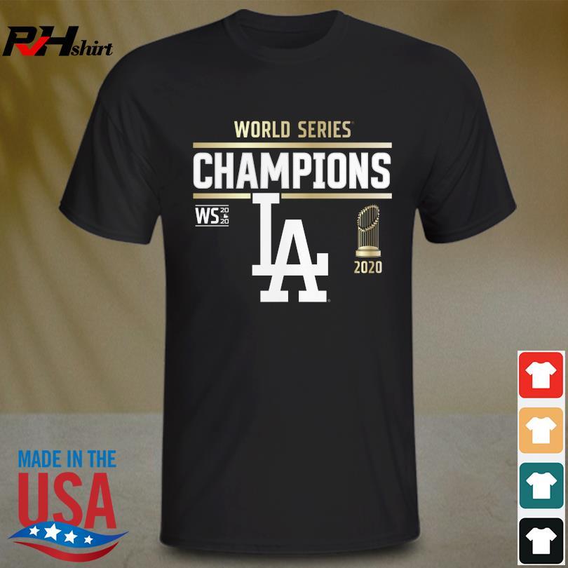 Los Angeles Dodgers 2020 World Series Champions shirt
