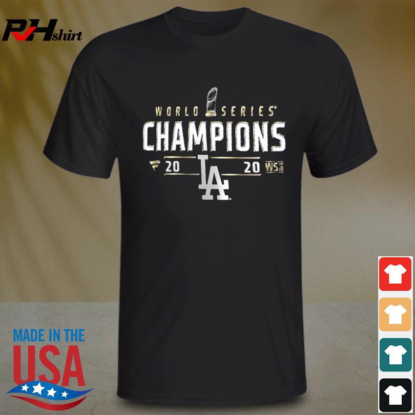 Los Angeles Dodgers 2020 World Series championship shirt