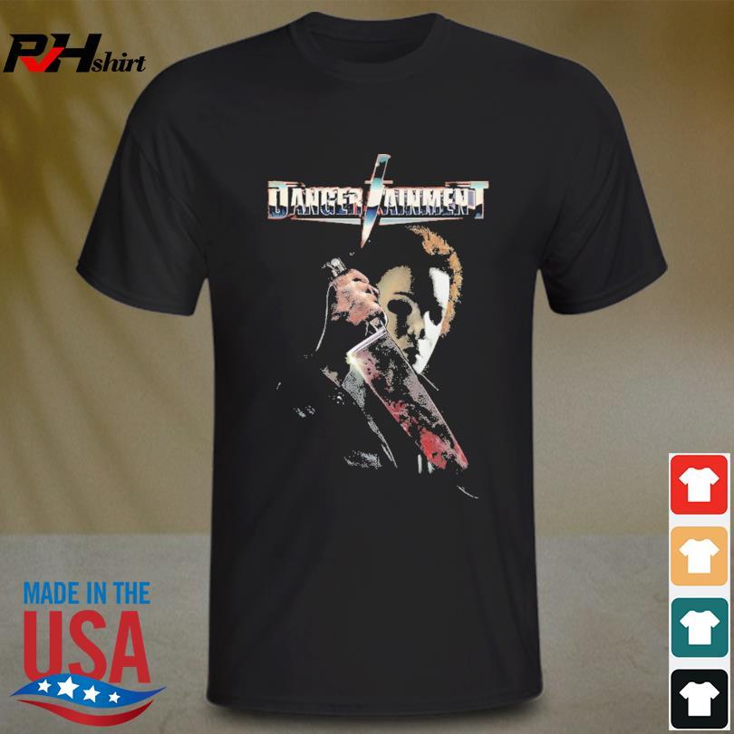 Michael Myers Danger Taiment Halloween shirt