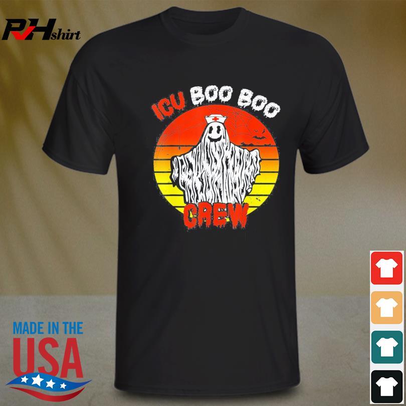 Nurse ICU Boo Boo Crew Ghost Nursing Halloween 2021 Shirt