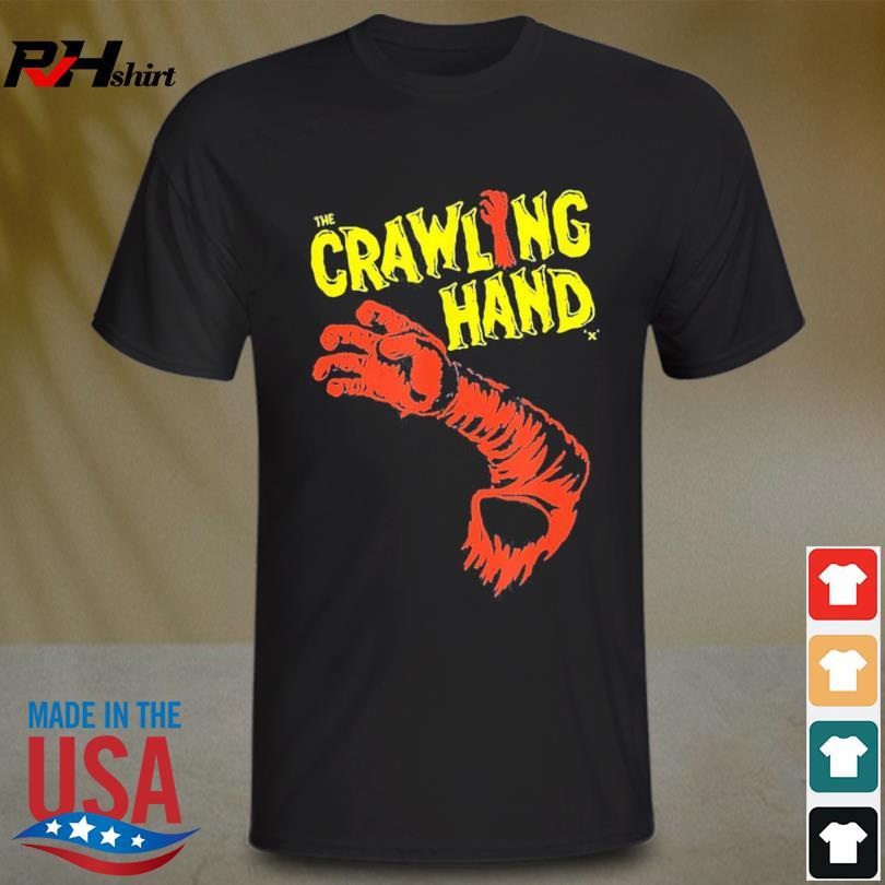 The Crawling Hand Horror Halloween 2021 Shirt