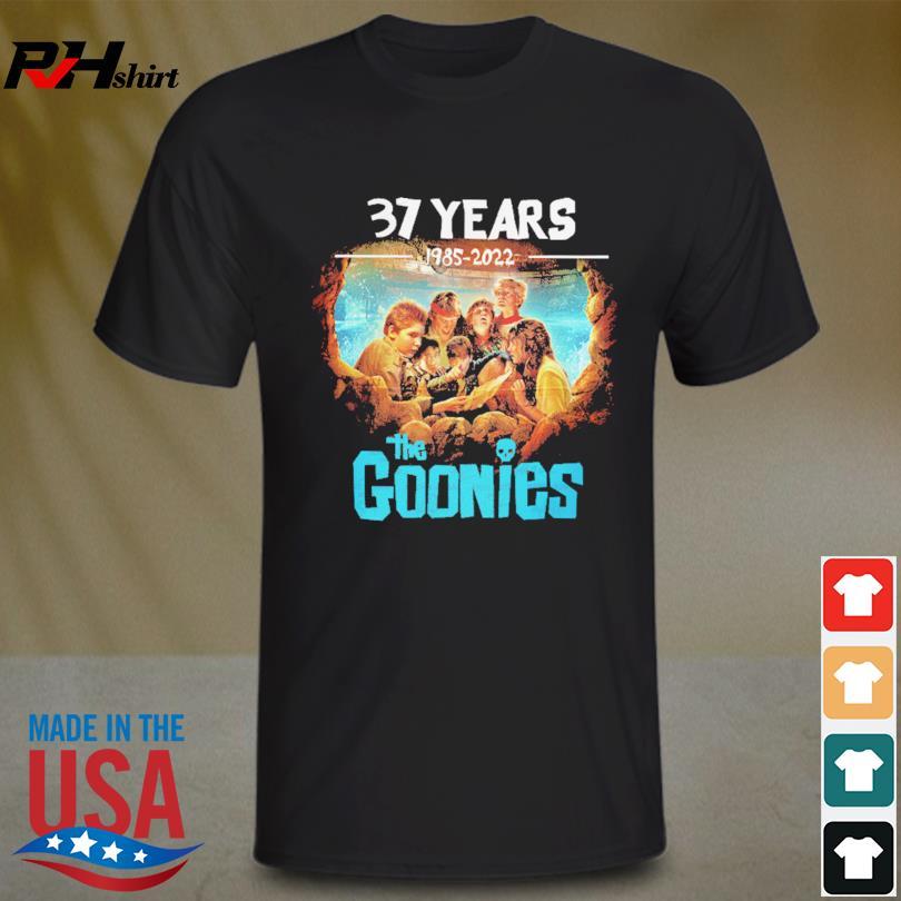 The Goonies 37 years 1985 2022 shirt